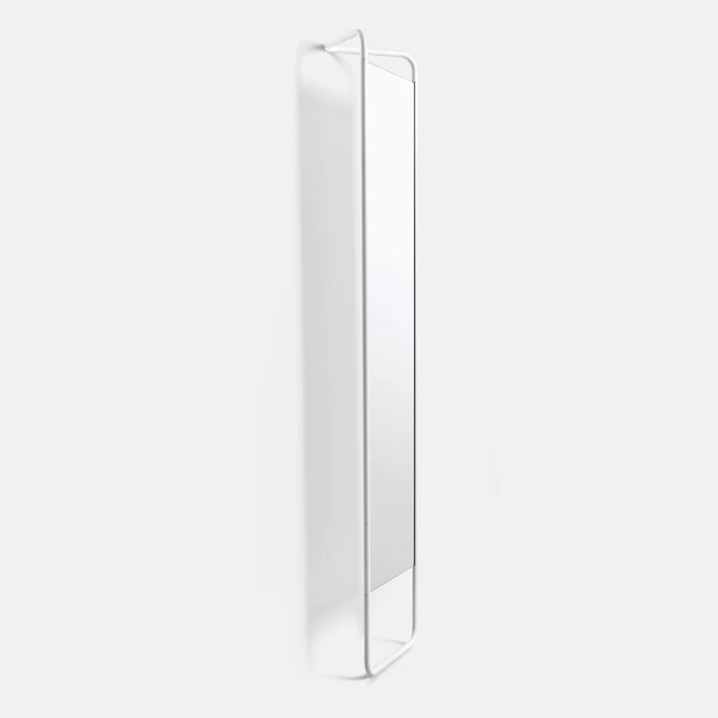 White Floor Mirror Kaschkasch Floor Mirror White