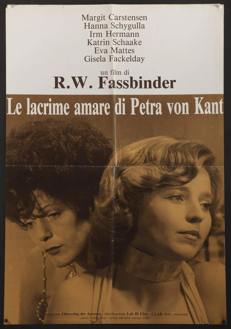 Bitter Tears Of Petra Von Kant Movie Poster 1 Sheet 27x41 Original Vintage Movie Poster 4076