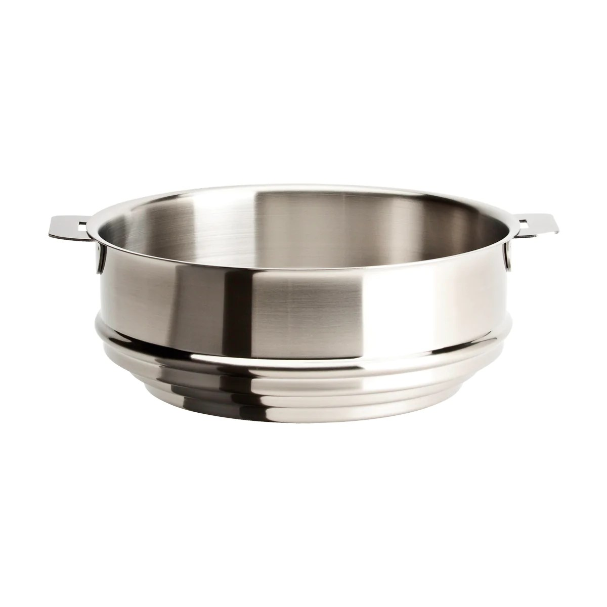 Steamer Saucepan Cristel Strate Removable Handle 8