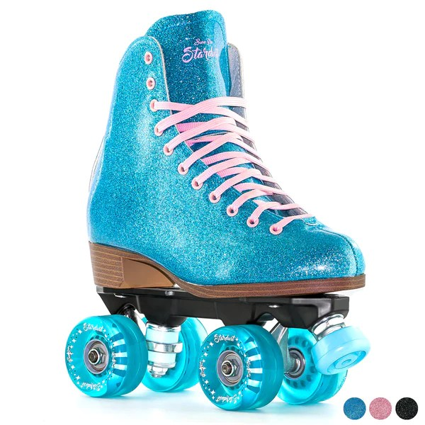 Roller Retro Look Sure Grip Stardust Roller Skate - Retro Style Skate With A