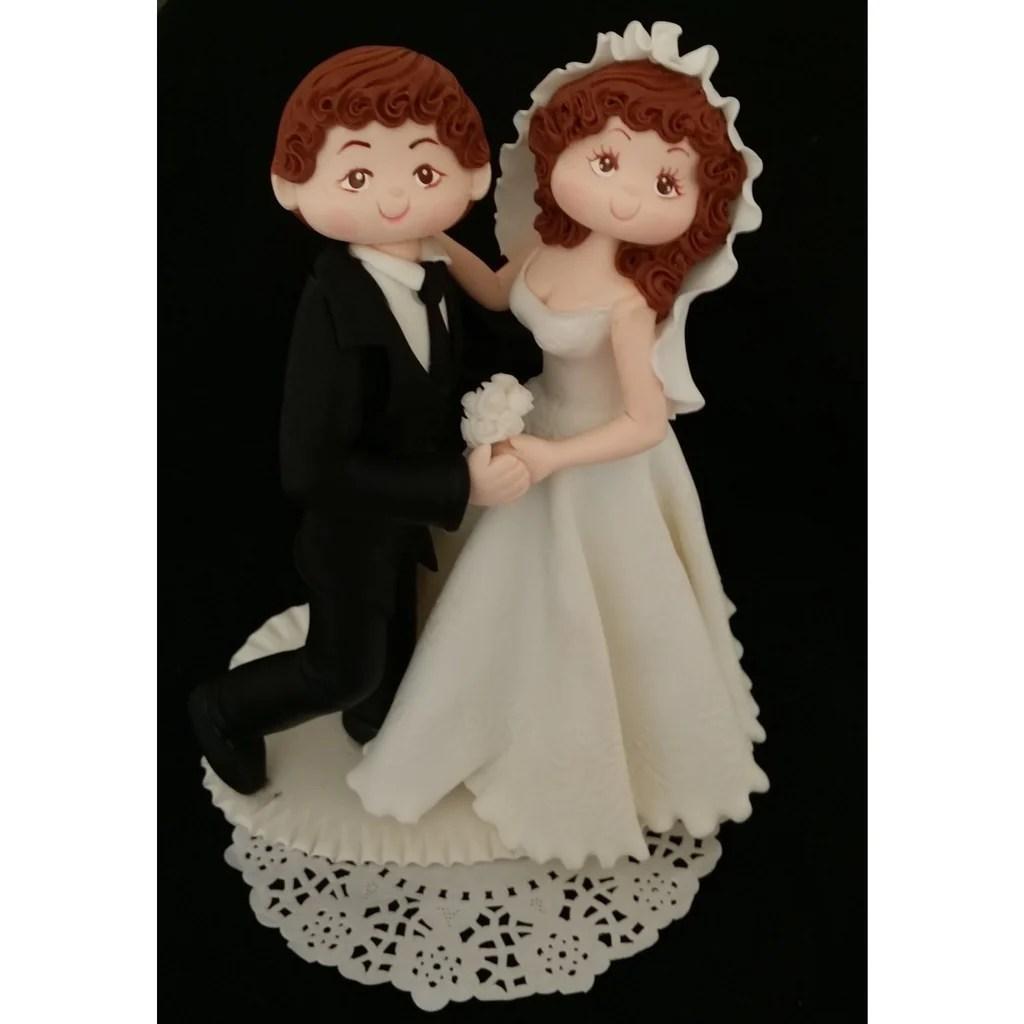 Fullsize Of Bride And Groom Cake Topper