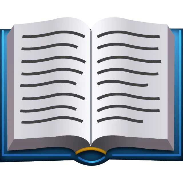 Novel Books In English Free Download Download Open Book Emoji Emoji Island