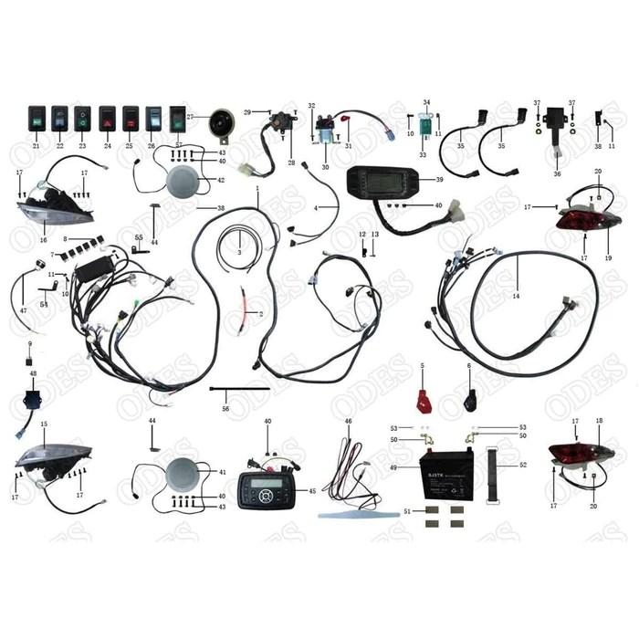 odes raider wiring diagram