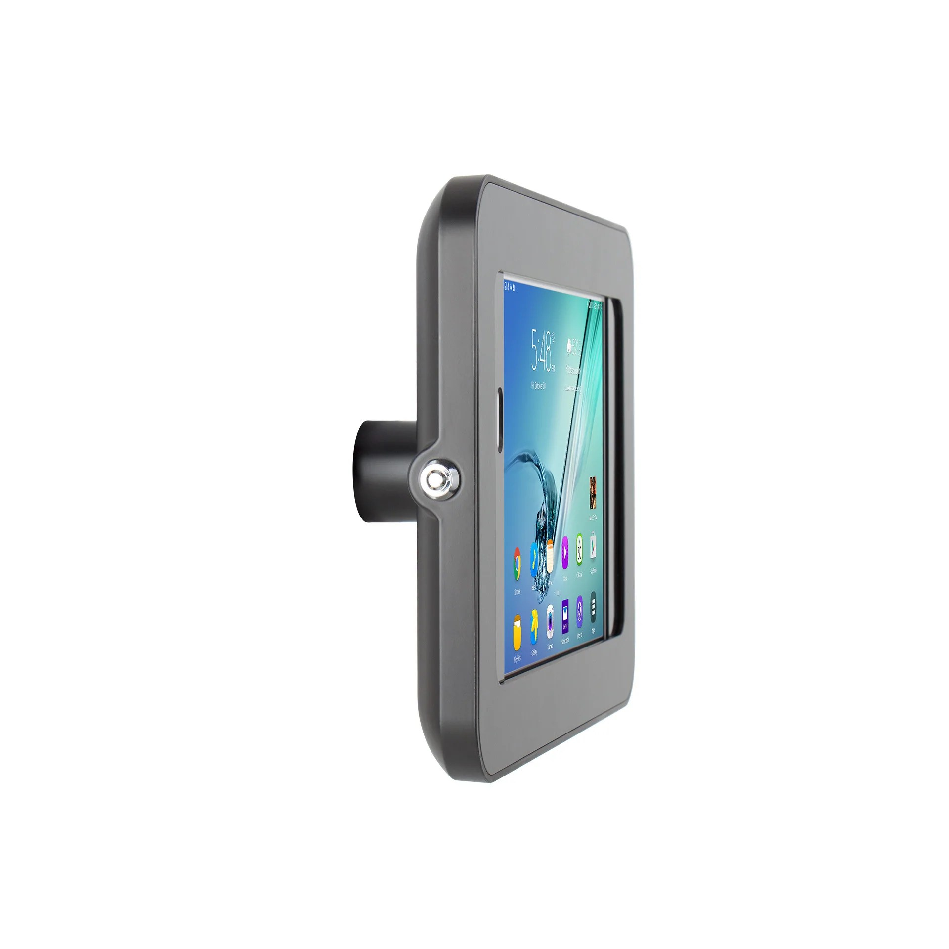 Galaxy Tab 9.7 Elevate Ii On Wall Mount Kiosk For Galaxy Tab S3 S2 9 7 Black