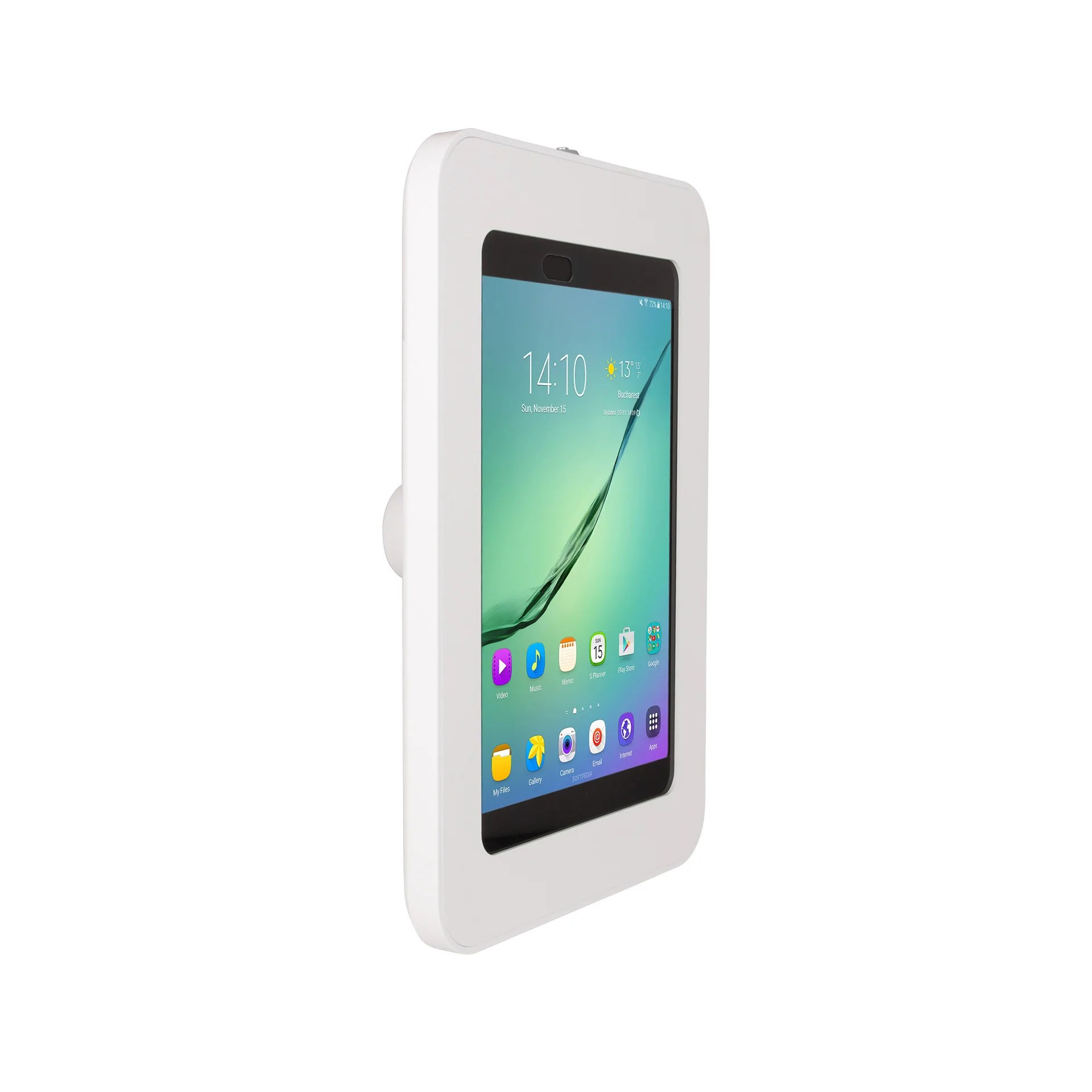 Galaxy Tab 9.7 Elevate Ii On Wall Mount Kiosk For Galaxy Tab S3 S2 9 7 White