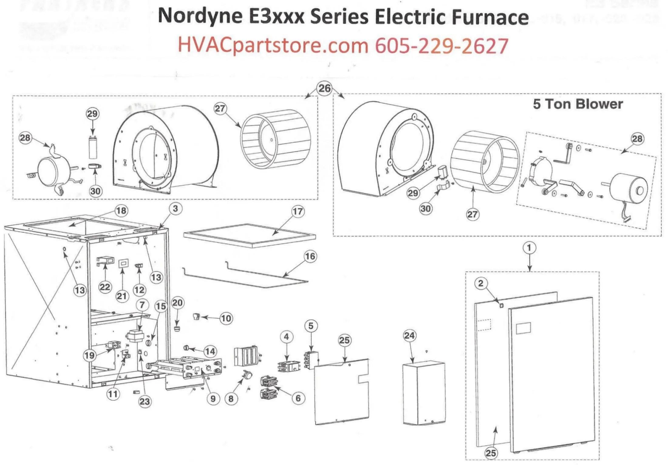 nordyne package unit wiring diagrams
