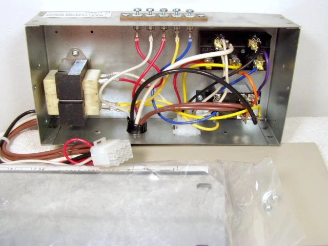 how to wire a intertherm furnace five wire thermostat
