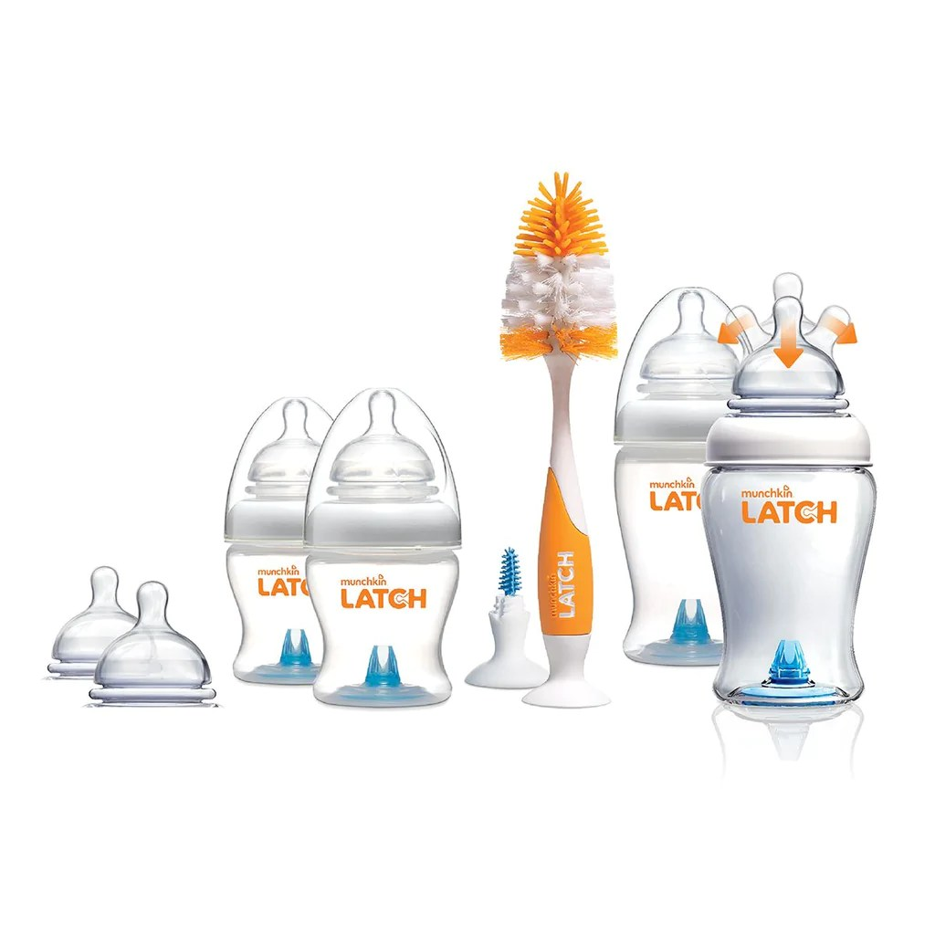 Baby Starterset Munchkin Latch Newborn Bottle Starter Set Baby Zone