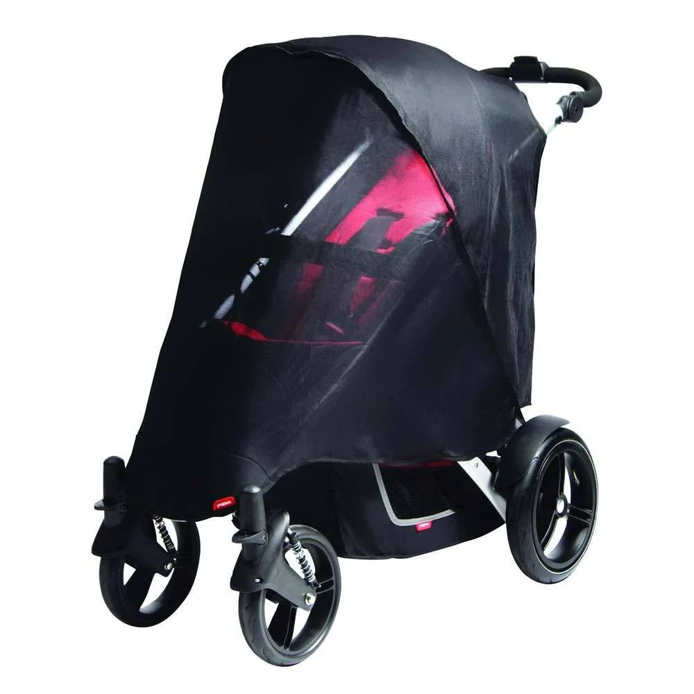 Phil And Teds Double Buggy Vibe Phil Teds Vibe Verve Double Sun Cover
