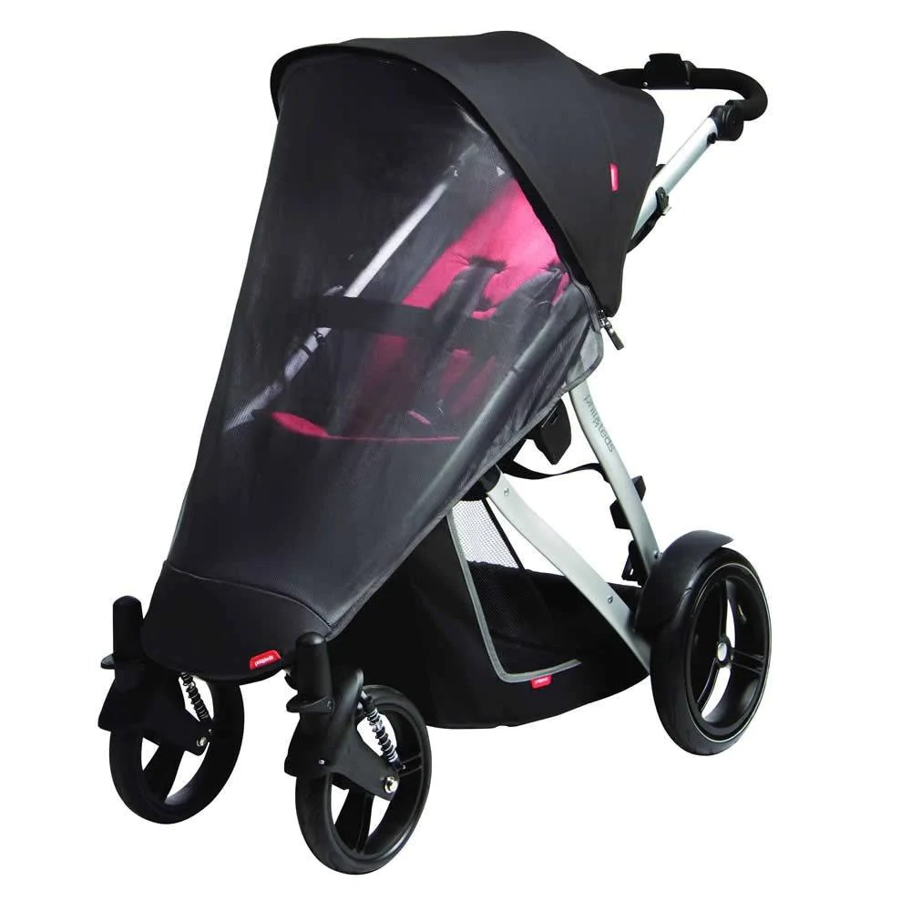 Phil And Teds Double Buggy Vibe Phil Teds Vibe Verve Sun Cover Single