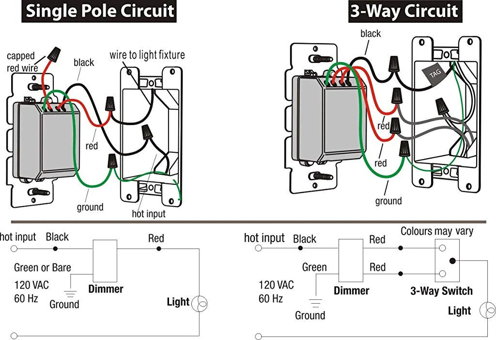 3 way circuit with dimmer issue
