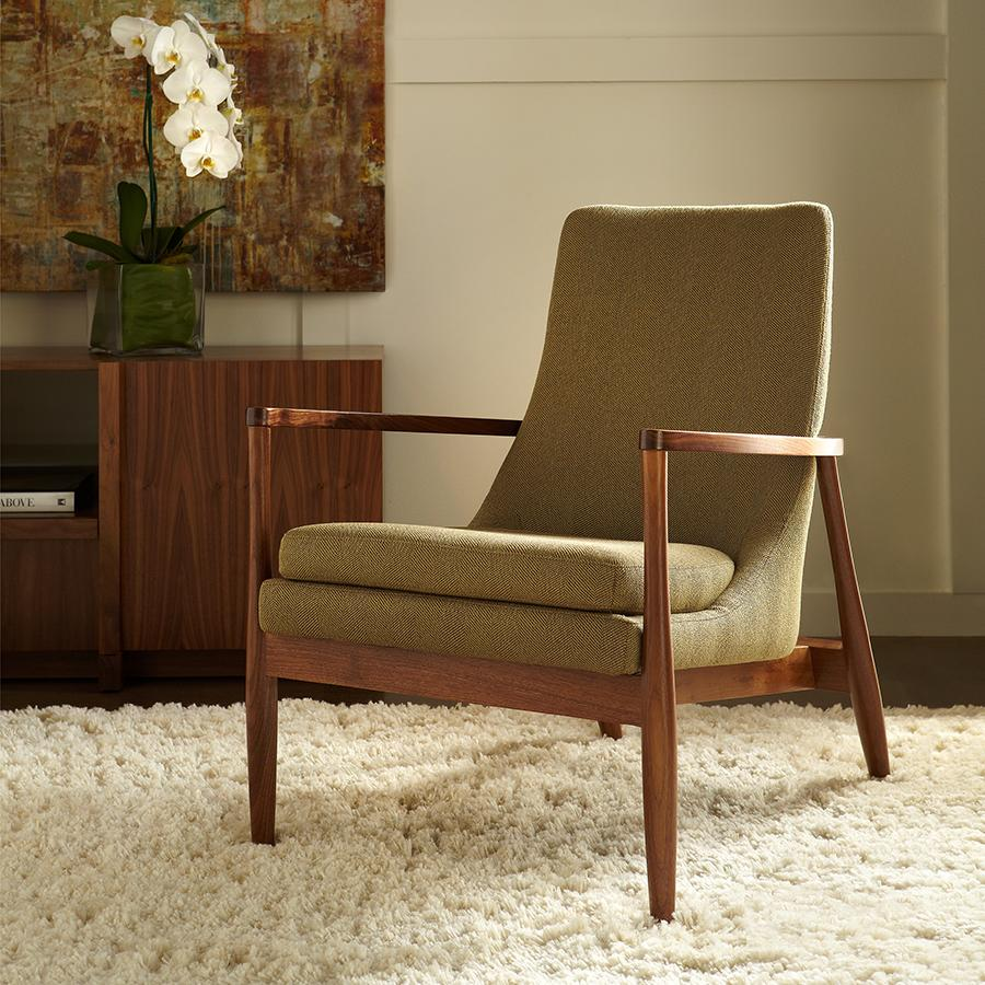 Aaron Chair American Leather Urban Natural Home Furnishings