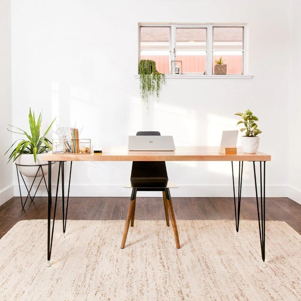 Diy Desk With Hairpin Legs Level Iii Hairpin Legs Diy Furniture Store