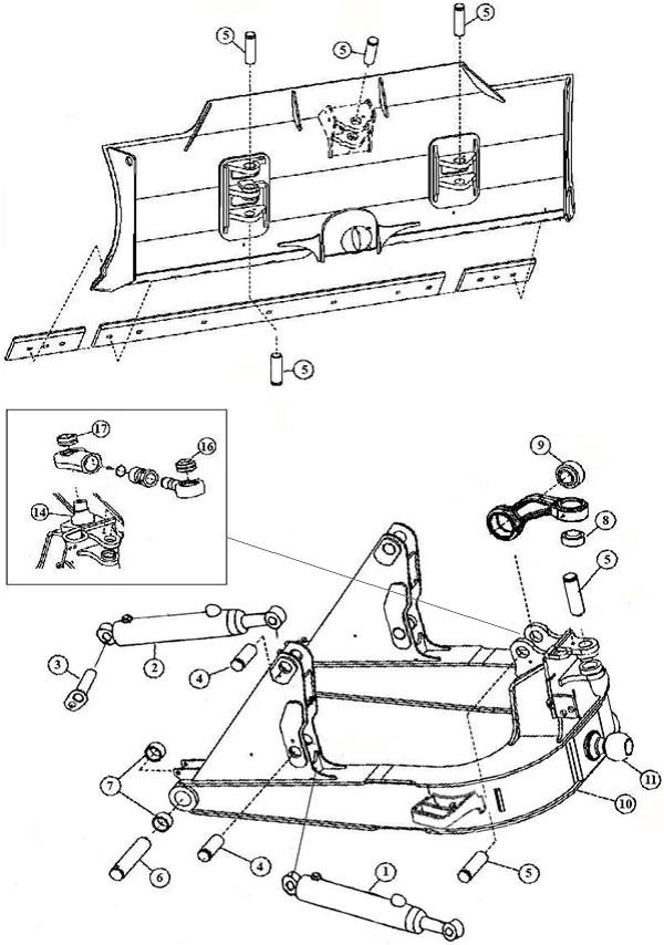 steer dozer blade wiring diagram