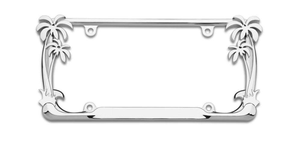 Cruiser Acc License Plate Frame Durable Zinc Die Cast