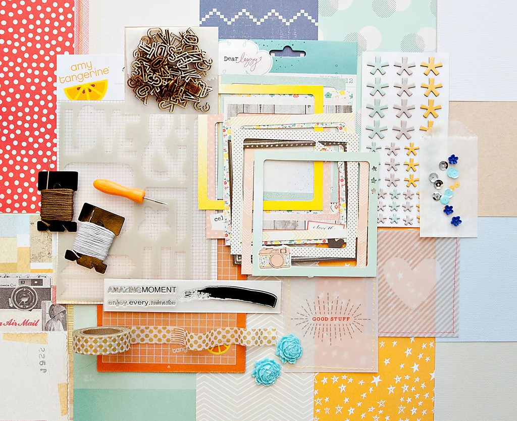 How to scrapbook with a budget of just 50