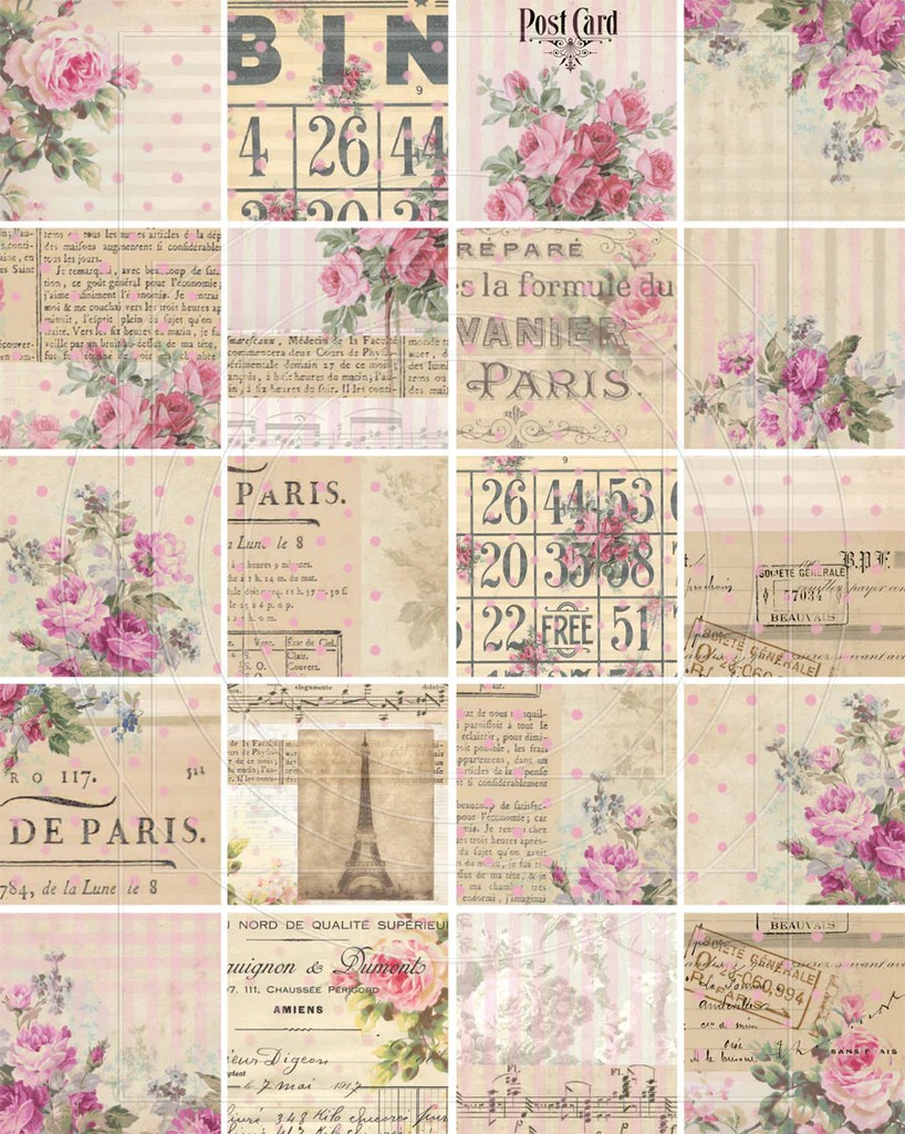 Shabby Chic Shop Shabby Chic Digital Designs Digital Paper Shop