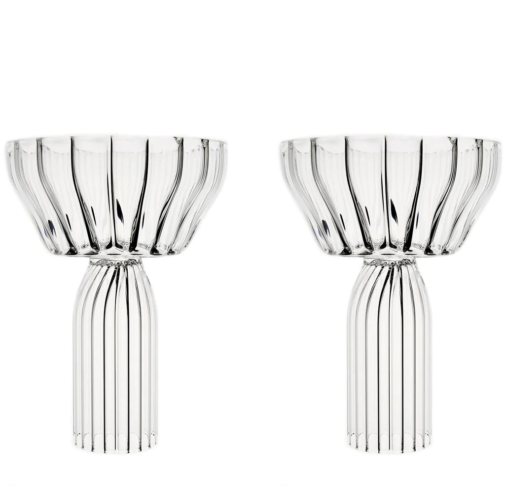 Champagne Coupe Fferrone Design Margot Champagne Coupe Set Of 2
