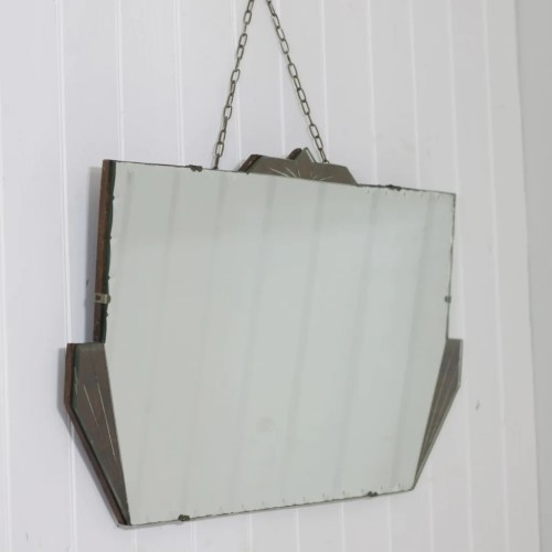 Medium Of Art Deco Mirror