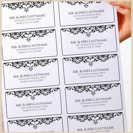 wedding address label template - Intoanysearch - Address Label Template