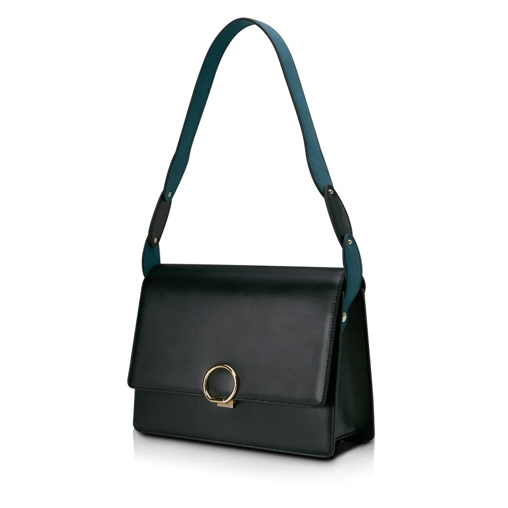 Halo Crossbody Bag Black Unitude Leather Bags For Women