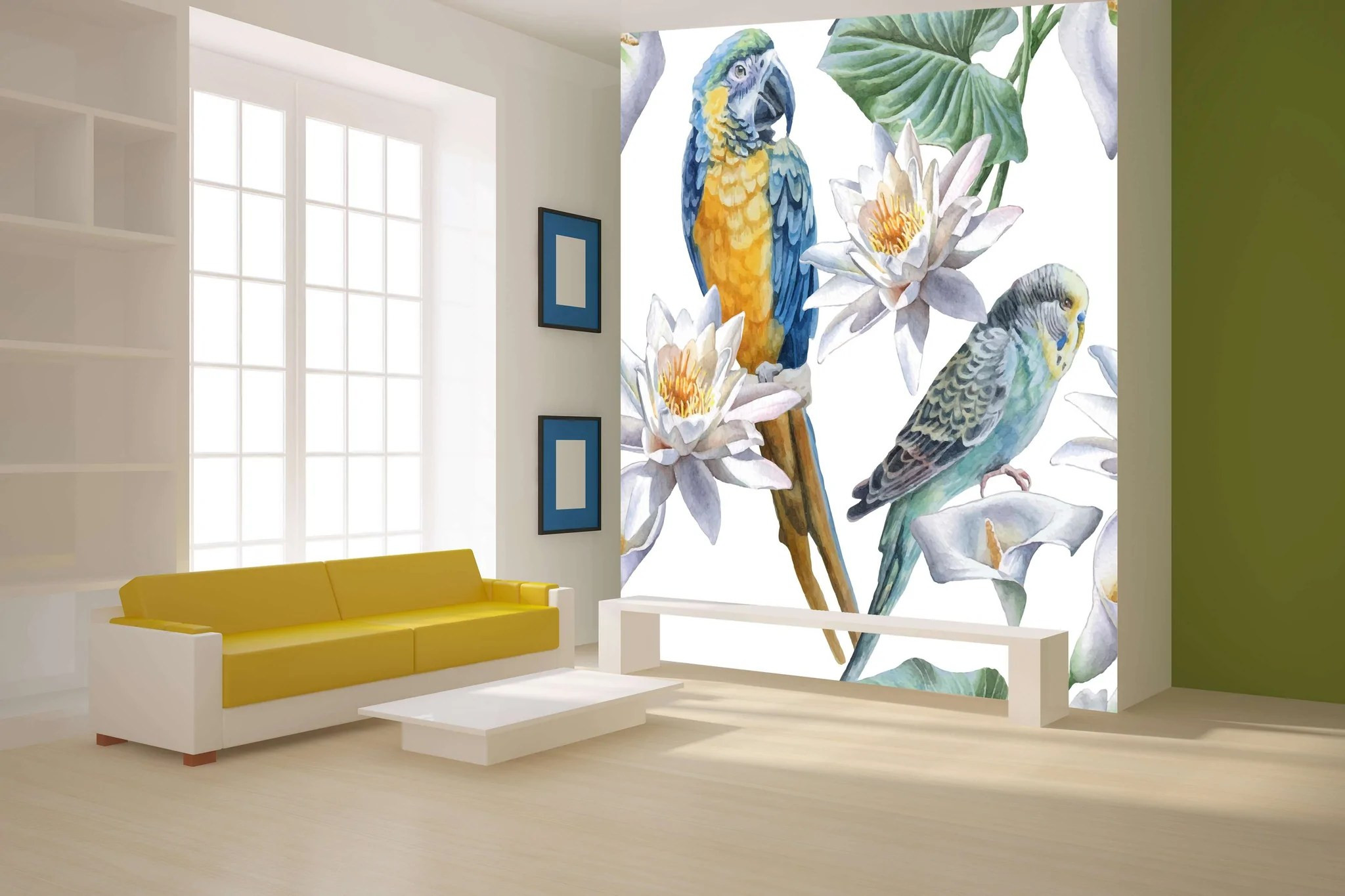 Foto Tapete Zidne Tapete Flower Birds Sw554