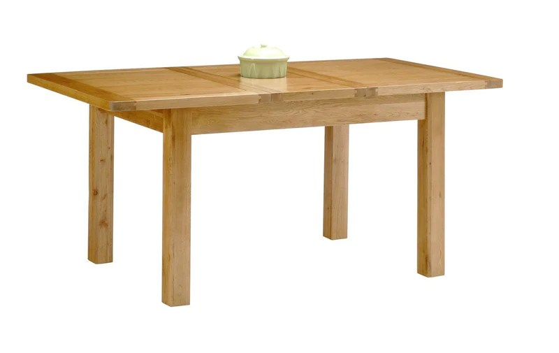 Hampshire Solid Oak Small Dining Room Table Extendable