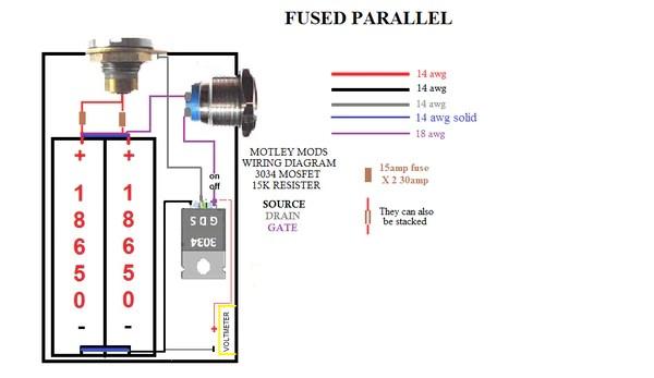 box mod mos fet wiring diagram pot