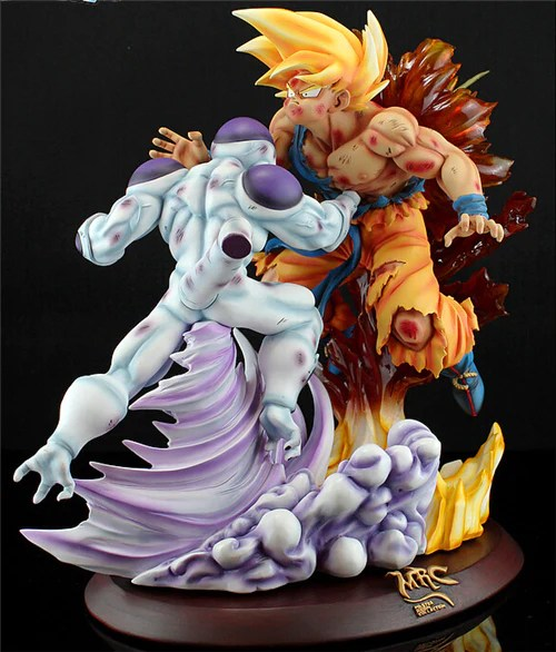 Wallpaper Dragon Ball 3d Hd Dragon Ball Mrc Super Saiyan Son Goku Vs Freeza Frieza