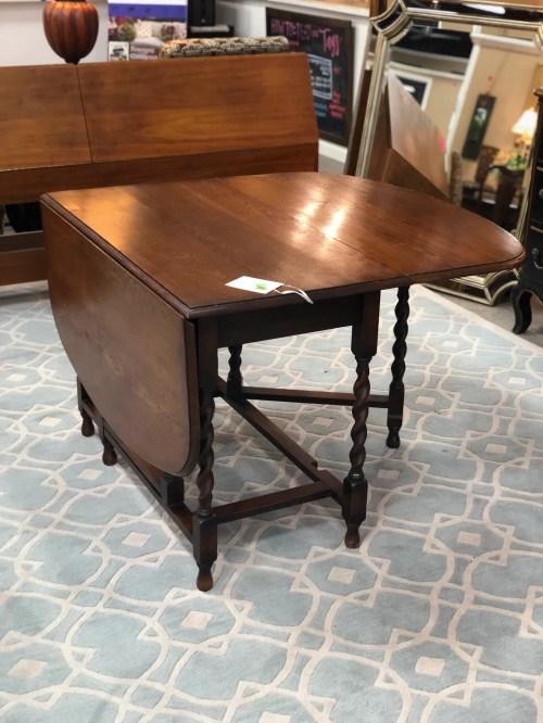 Medium Of Antique Drop Leaf Table