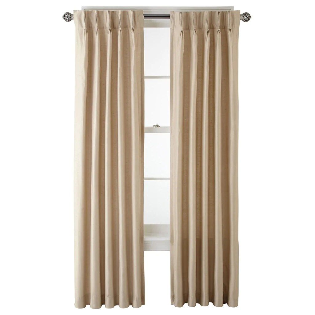 How To Make Lined Curtain Panels Supreme Pinch Pleat Back Tab Lined Panel Linen