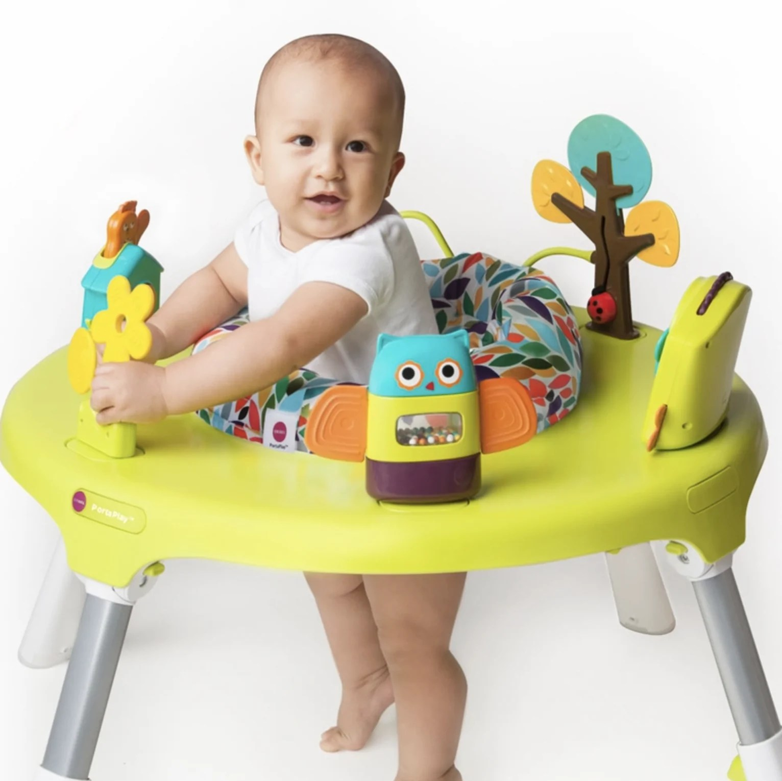 Baby Activity Center Oribel Portaplay 4 In 1 Foldable Activity Center