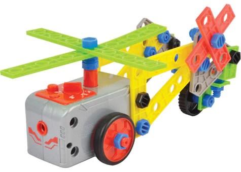Kids Stem Educational Jr Engineer Motorized Construction