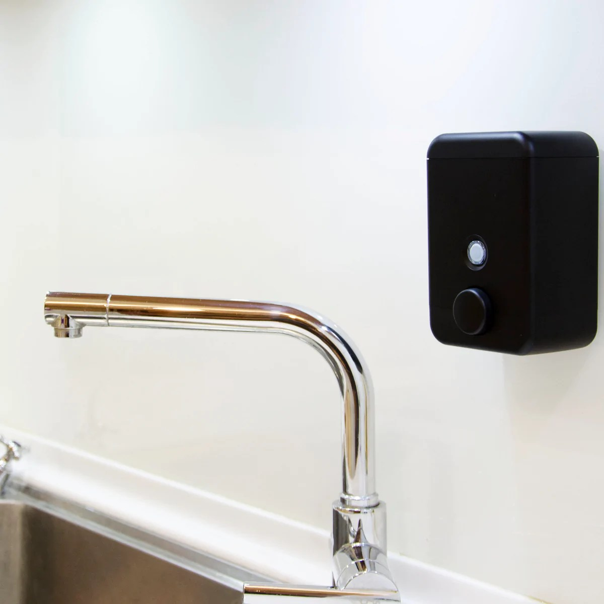 Black Wall Mounted Soap Dispenser Homepluz Cube Wall Mounted Soap Dispenser Truetosource