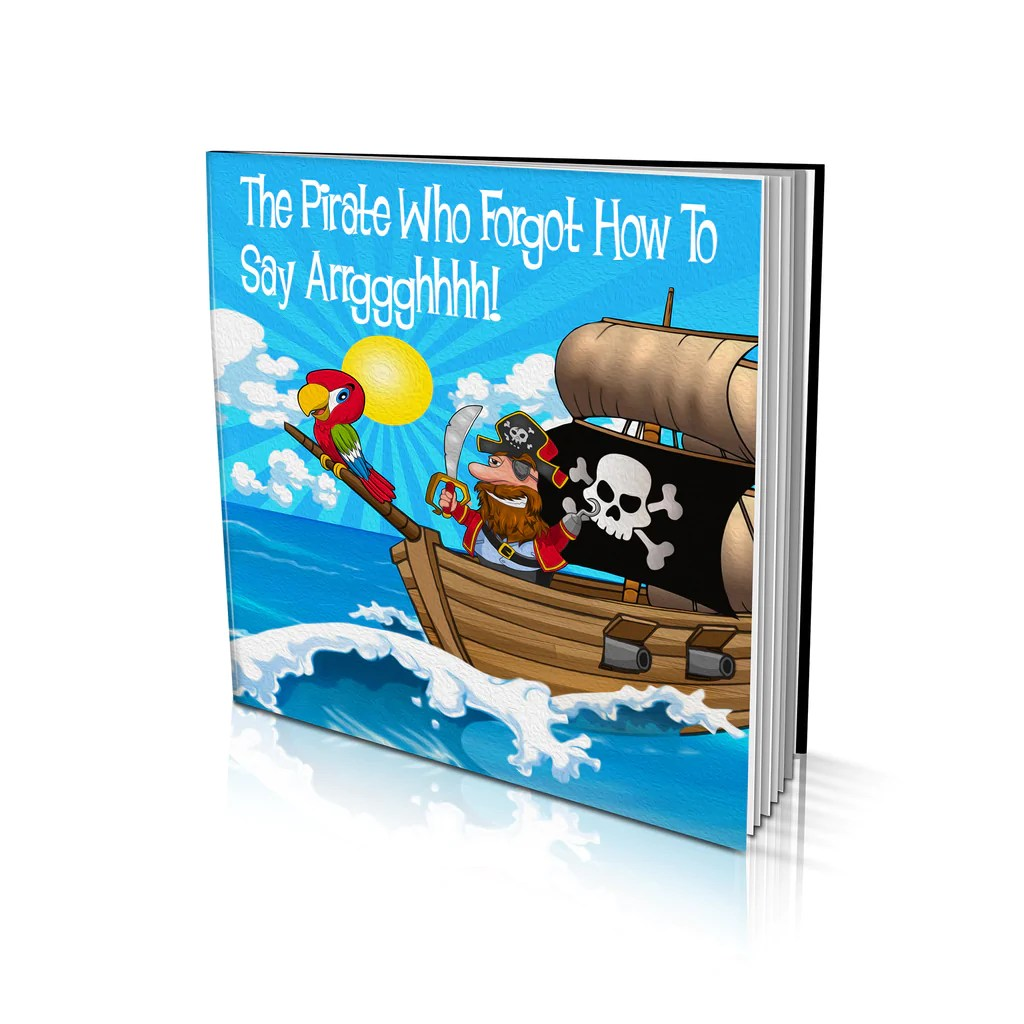Big W Book Covers Soft Cover Story Book The Pirate Who Forgot How To Say