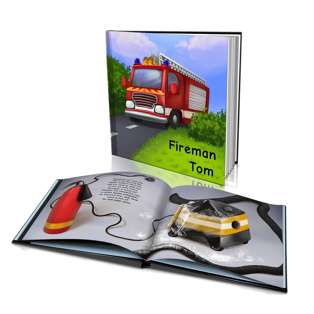 Big W Book Covers Hard Cover Story Book Fireman Bigw Photos