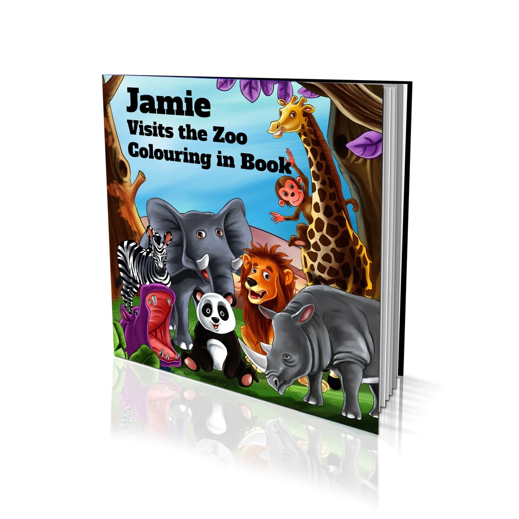 Big W Book Covers Visits The Zoo Soft Cover Colouring Book Bigw Photos