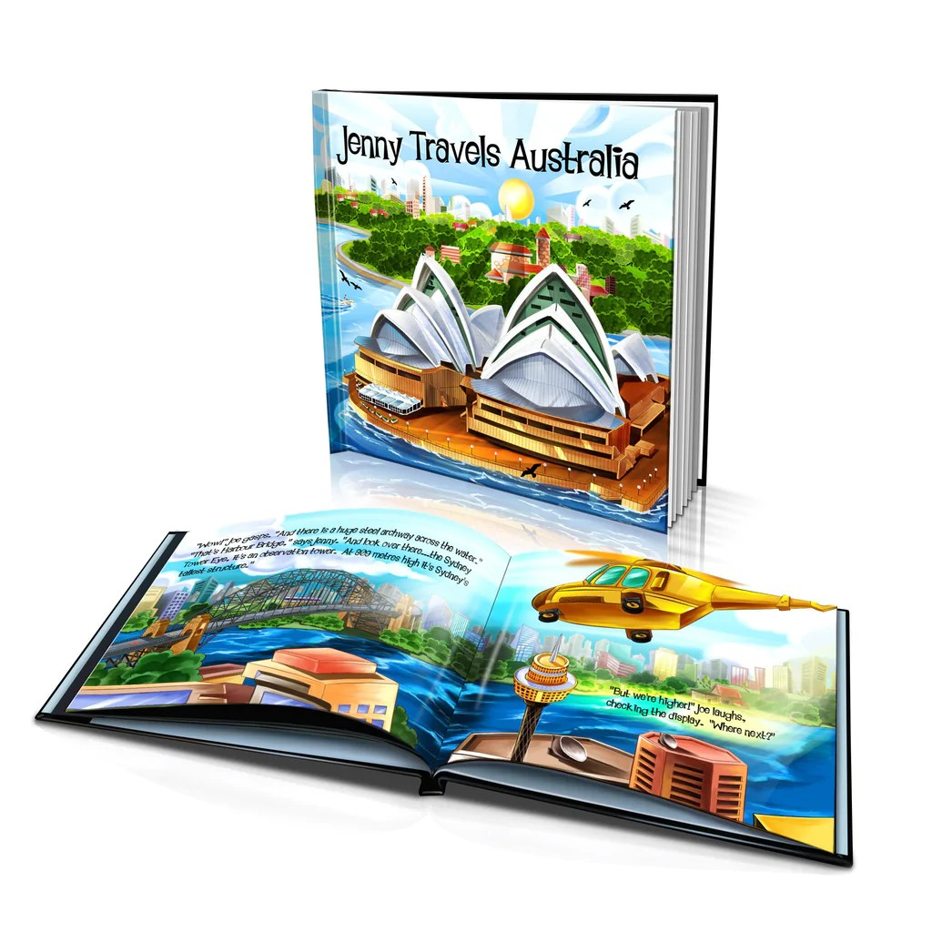 Big W Book Covers Hard Cover Story Book Travels Australia Bigw Photos