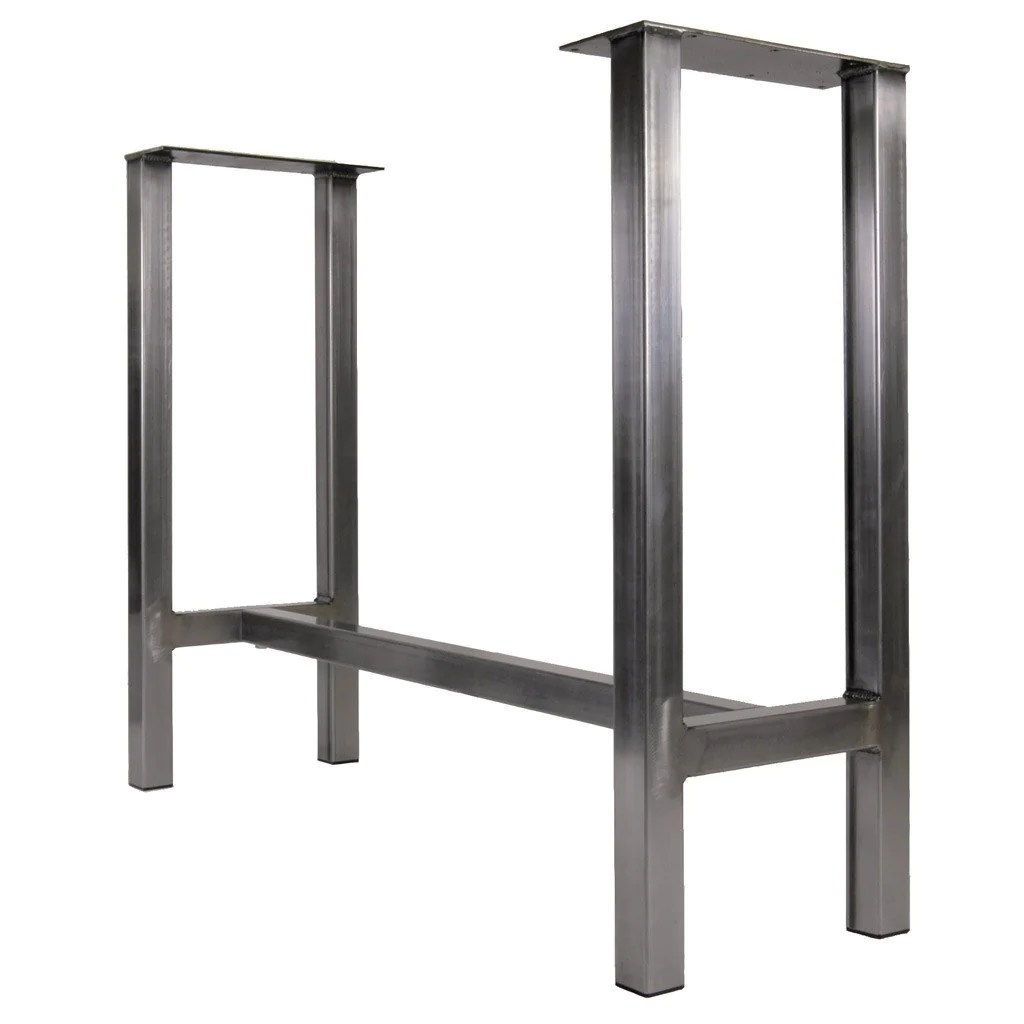 Metal Table Metal Dining Table Legs By Symmetry Hardware Steel Table Legs By