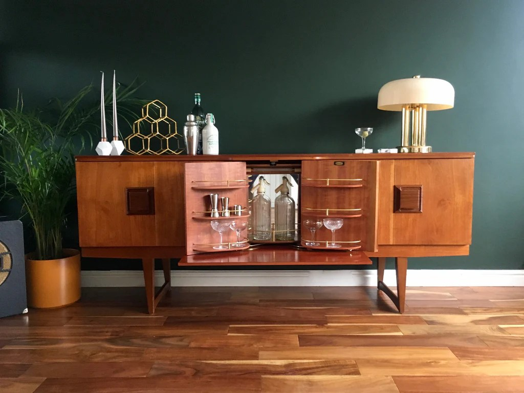 Vintage Kitchen Sideboard Beautility Sideboard With Secret Cocktail Cabinet