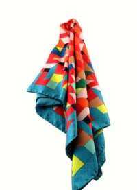 Silk Twill Scarf - Place An Order For A Geometrical Scarf ...