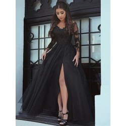 Small Crop Of Long Sleeve Lace Dress