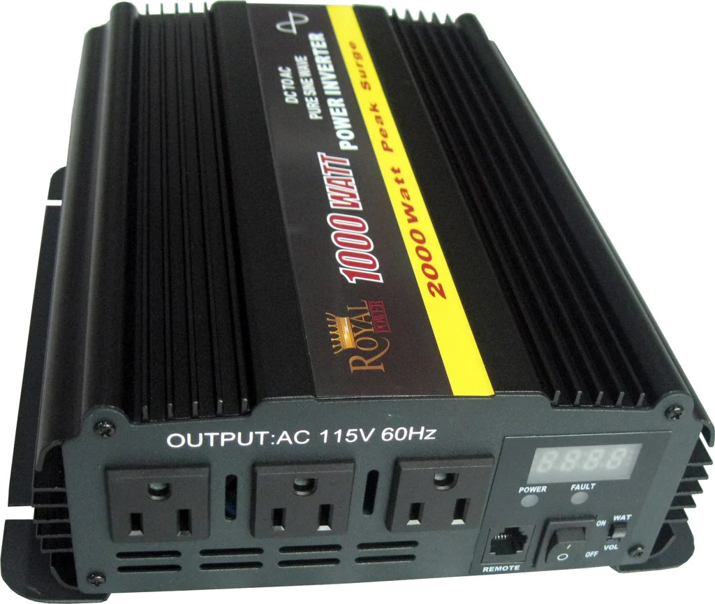 1000 Watt Pure Sine Wave Inverter Pure Sine 1000 Watt Power Inverter 12 Volt Dc To 120v Ac