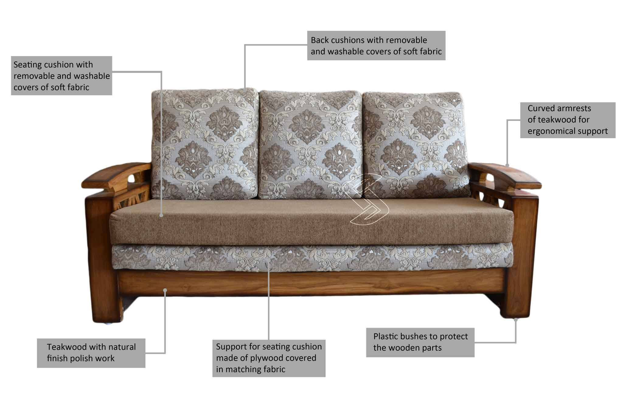 Sofa Olx Jodhpur Teak Wood Sofa Set Hyderabad Catosfera