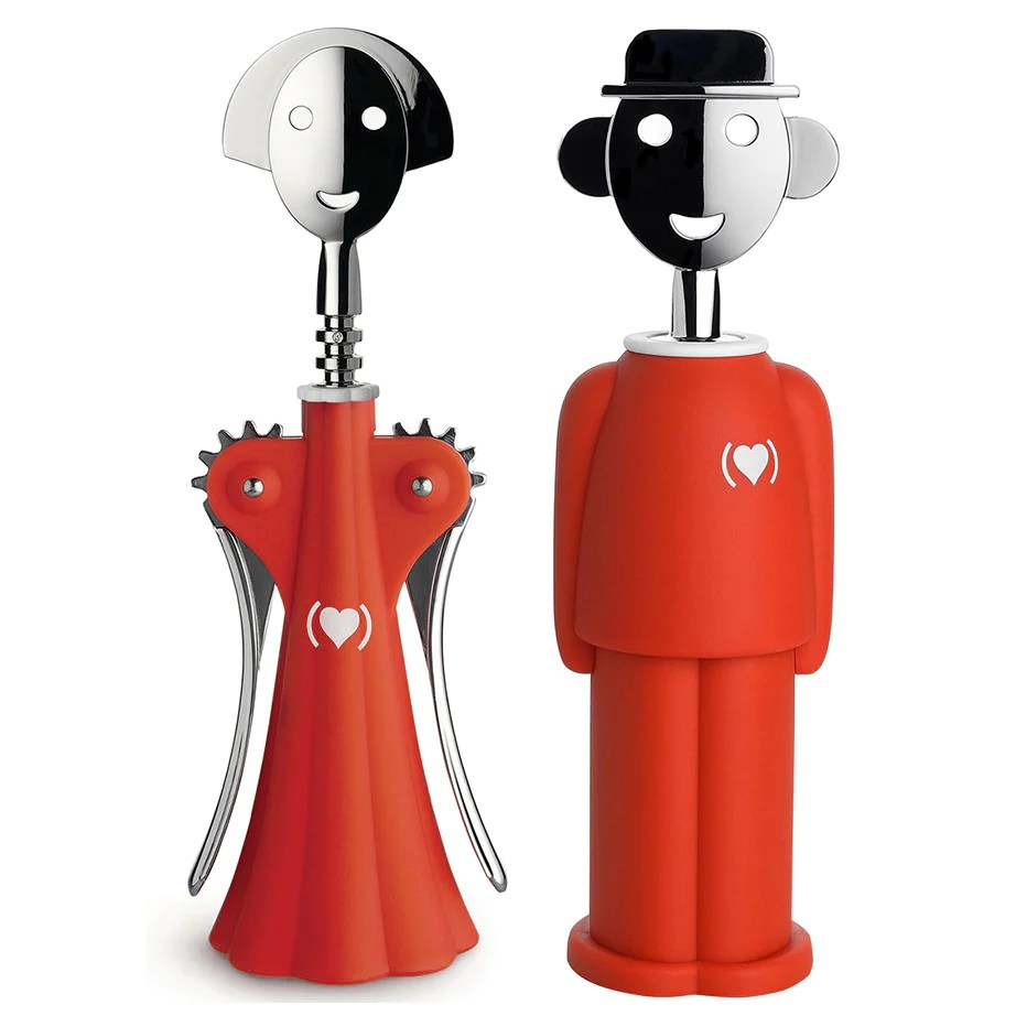 Alessi Anna Alessi Anna G. & Alessandro M. (product)red Corkscrews