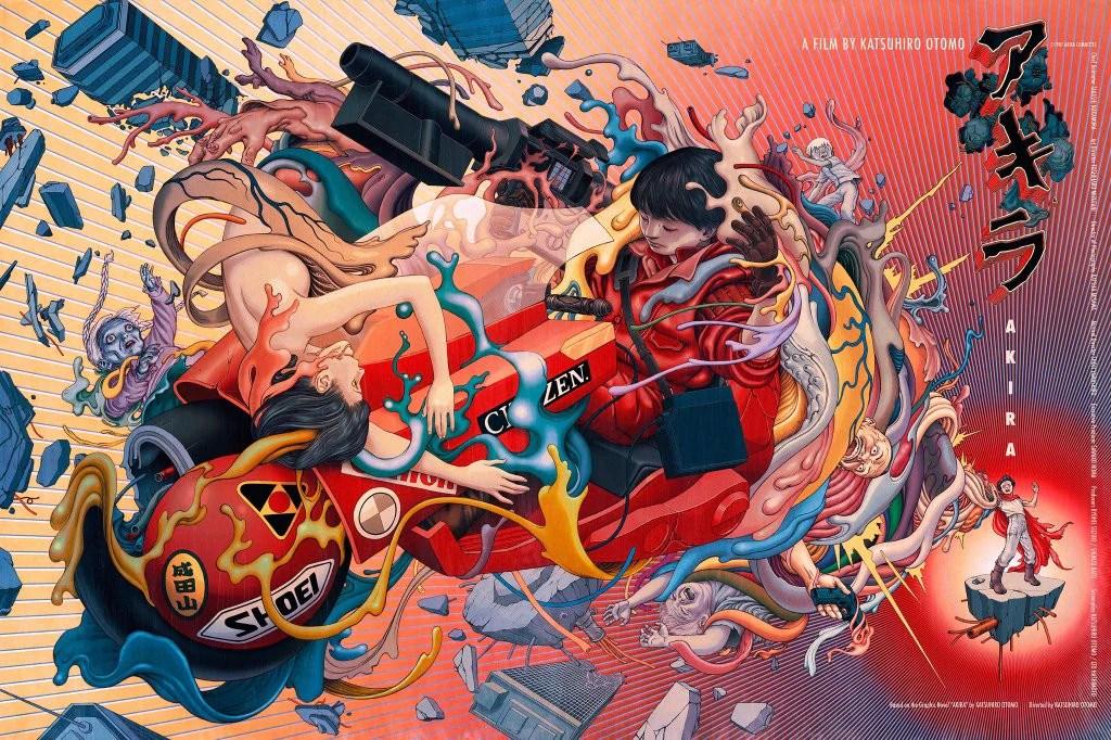 Acid Iphone Wallpaper James Jean Quot Akira Quot 1st Edition 2016 Kickassposters Com