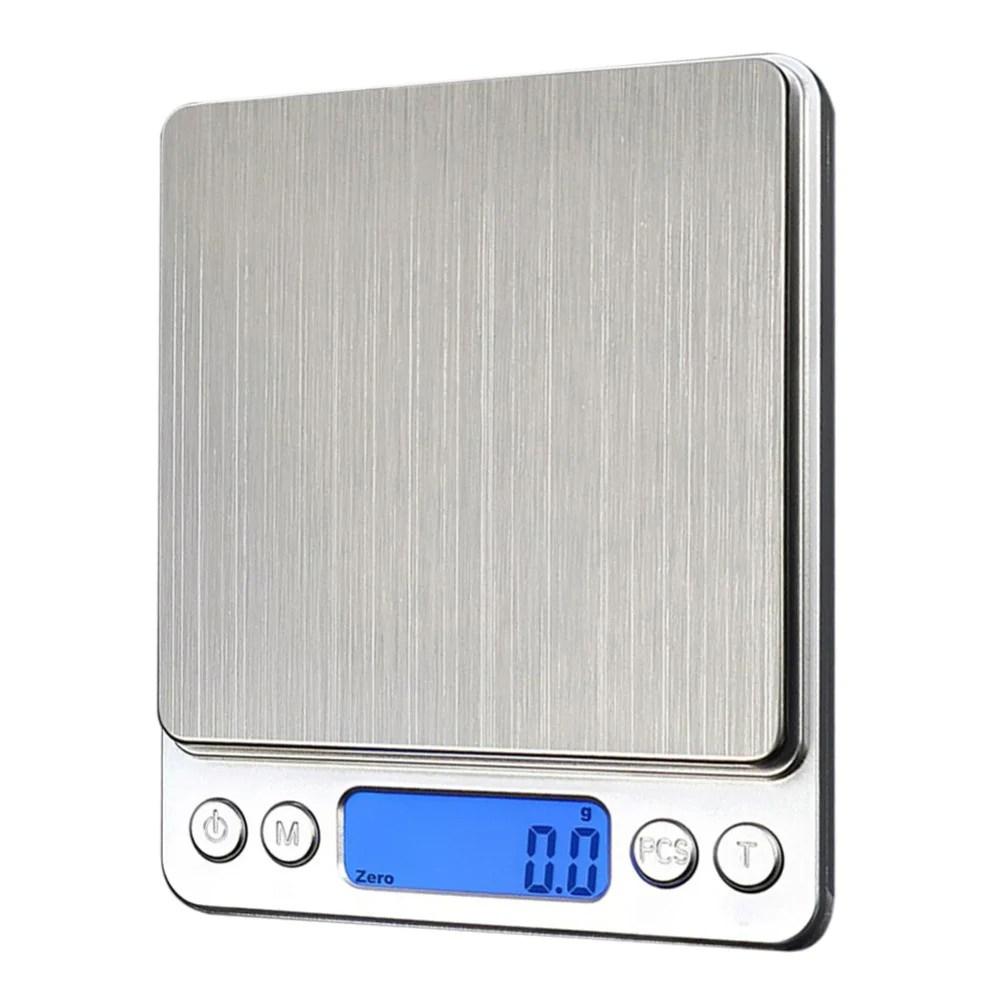 Precision Scale 1000g X 1g Digital Electronic Scales Portable Jewelry Kitchen Precision Balance Weight Weighing Scale