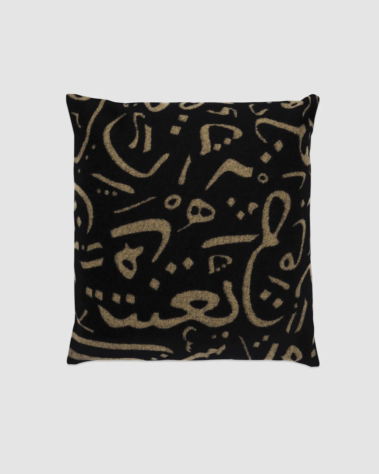 Calligraphy Online Ovo X Woolrich Pillow