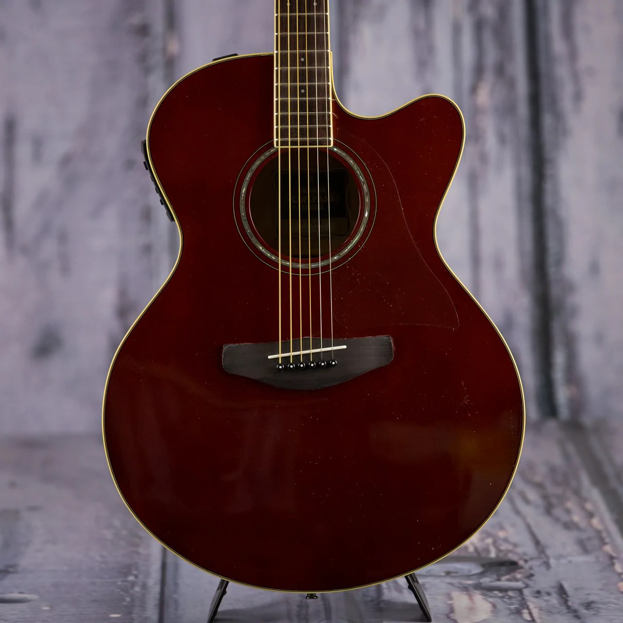 Acoustic Yamaha Yamaha Cpx600 Rb Acoustic Electric Guitar Root Beer Red For Sale