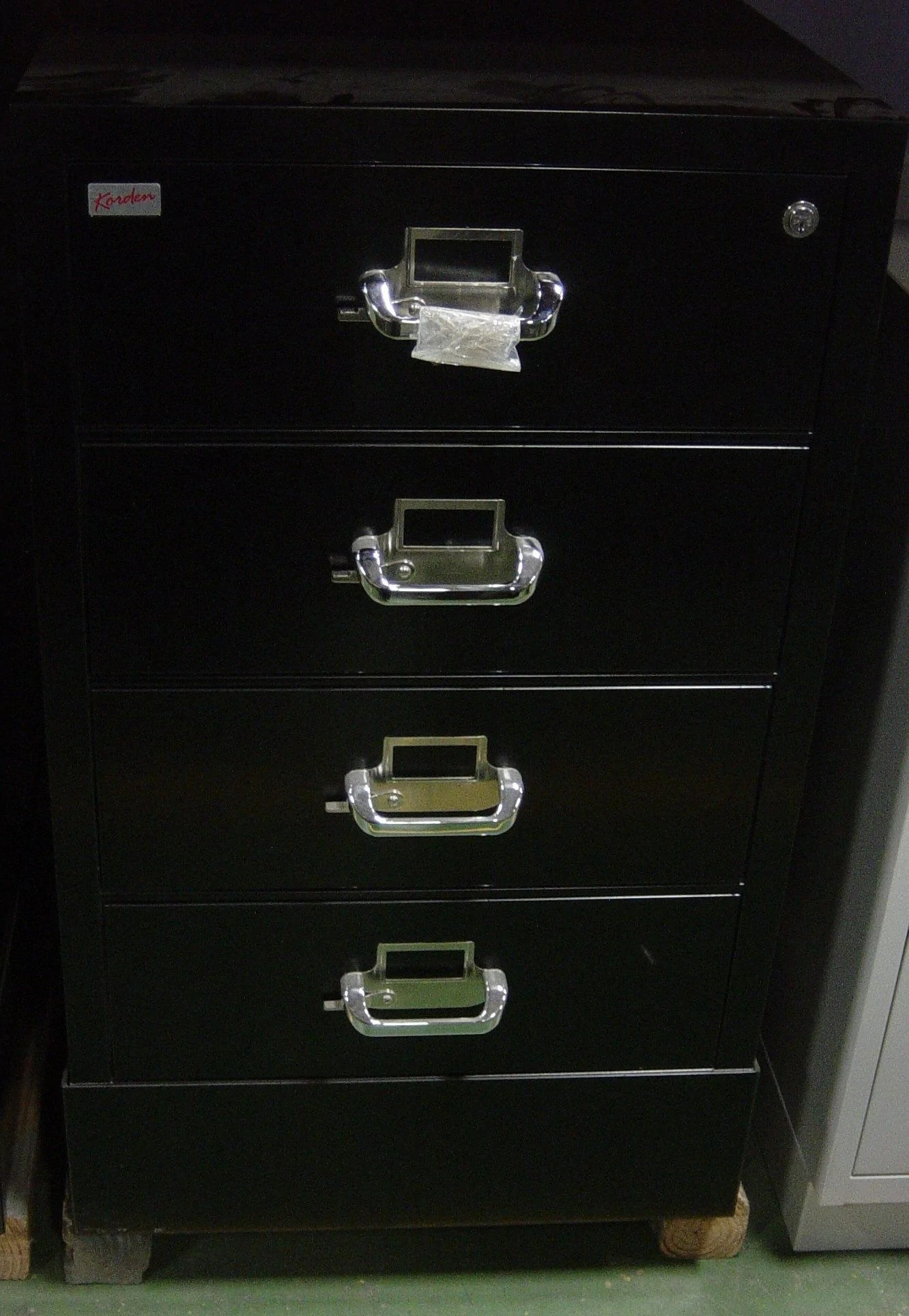 Gambar Korden Korden Ffscc4 1 4 Drawer File Safe